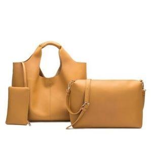DIANA large shoulder bag by Melie Bianco